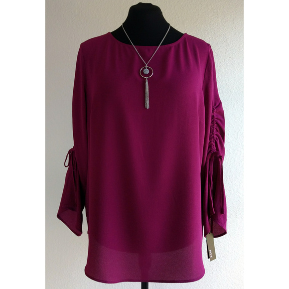 Alyx Tops - (NWT) Berry Blouse